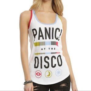 Hot Topic Panic at the Disco white tank top